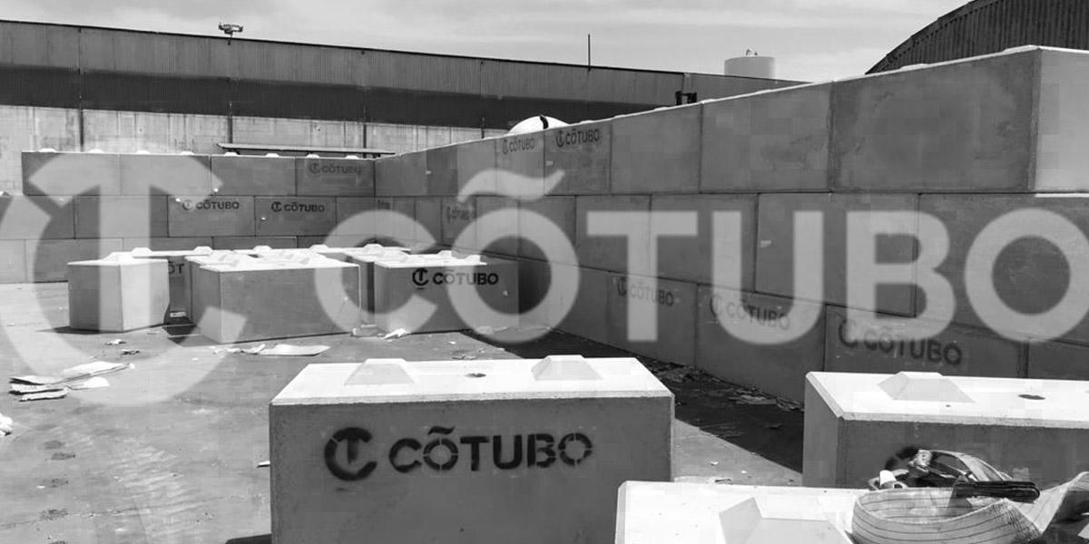 Fábrica de bloques de hormigón prefabricado