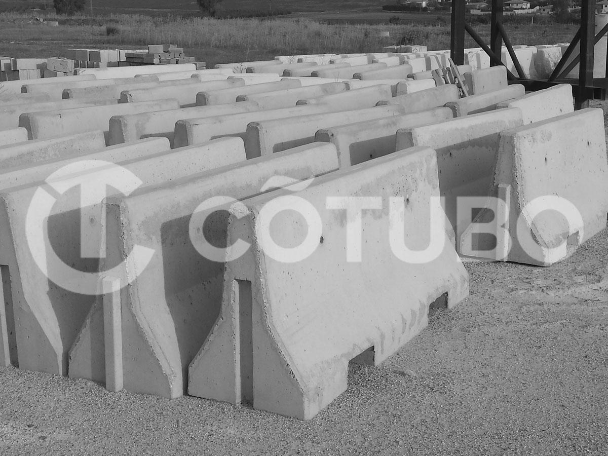 Fabricantes de barreras prefabricadas de hormigón