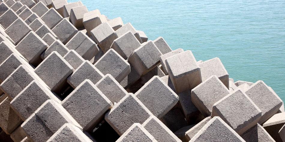 Fabricantes de prefabricados de hormigón para obra marítima